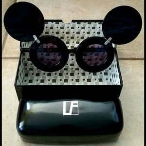 RARE! Mickey Mouse Sunglasses Linda Farrow